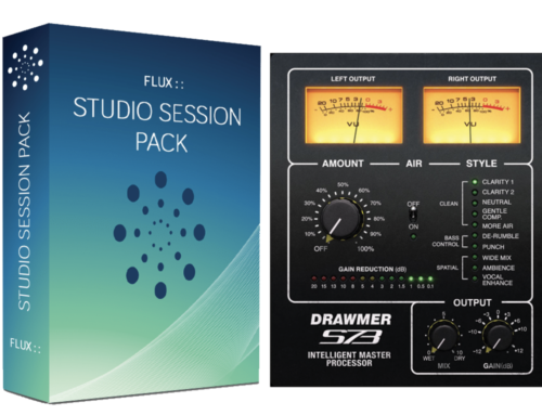 [12월 31일까지] Flux Studio Session Pack + Softube Drawmer S73 패키지 할인